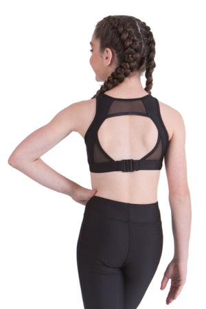 Olive Crop Top | Dancewear Nation Australia