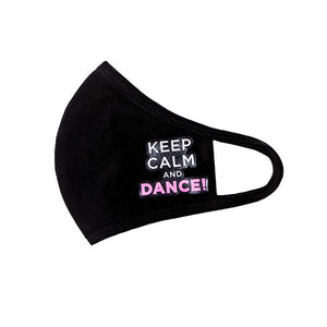 Energetiks Dance Face Mask - Keep Calm and Dance!