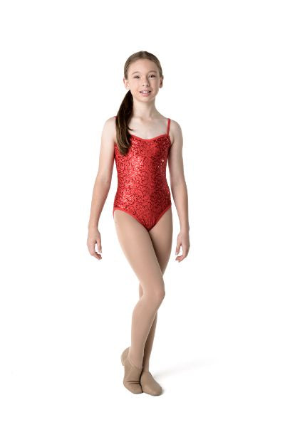 Sequin Camisole Leotard (Child) | Dancewear Nation Australia