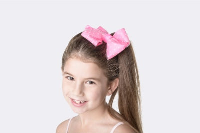Spotty Bow Clip | Dancewear Nation Australia