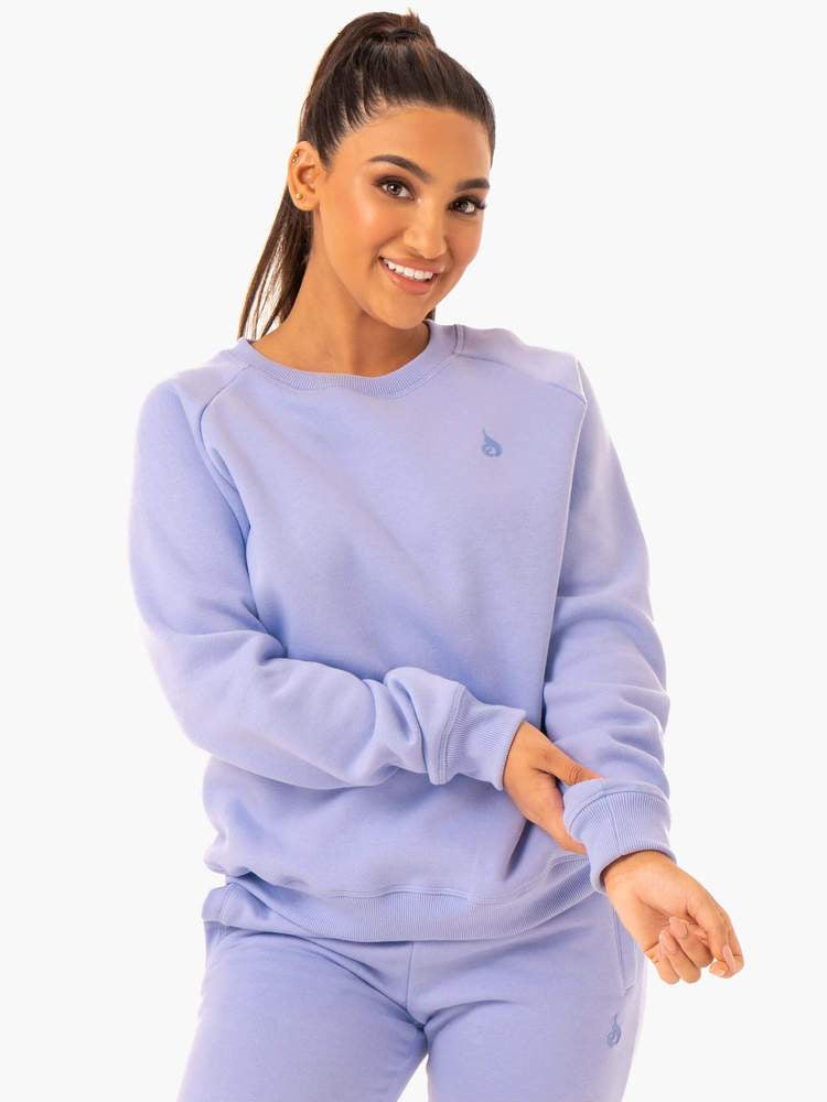 Ryderwear ADAPT Boyfriend Sweater - Lavender