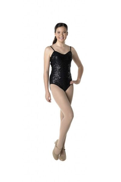 Sequin Camisole Leotard (Adult)