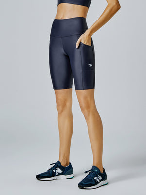 Running Bare Power Moves Ab-Waist Bike Tight (Adult)