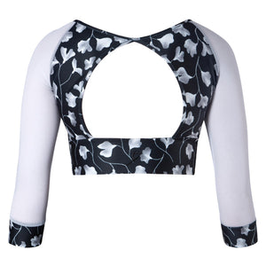 Astrid 3/4 Sleeve Crop - Luna (Adult)