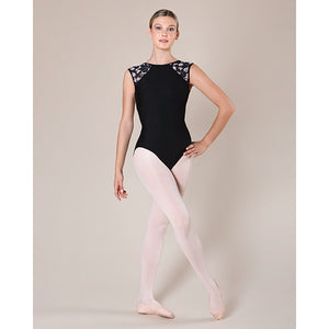 Estella Leotard - Black (Adult)