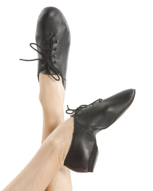 Energetiks Lace Up Jazz Shoe - Full Sole (Child) | Dancewear Nation Australia