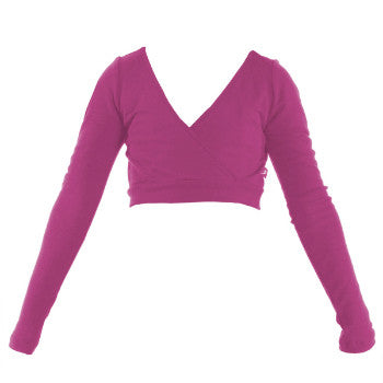 Energetiks Vivian Merino Wool Mock Crossover (Child) | Dancewear Nation Australia