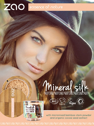 NEW!!! Zao Mineral Silk Powder Refill