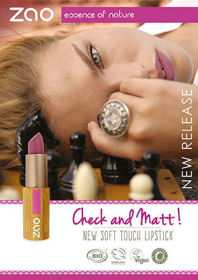 NEW!!! Soft Touch Lipstick- Zao Makeup