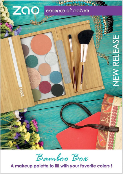 NEW Makeup release 2017- Zao maxi bamboo palette.