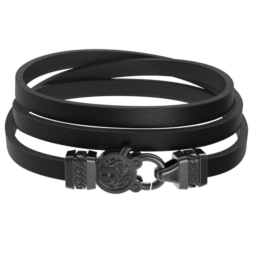 Mister Edge Leather Bracelet V3
