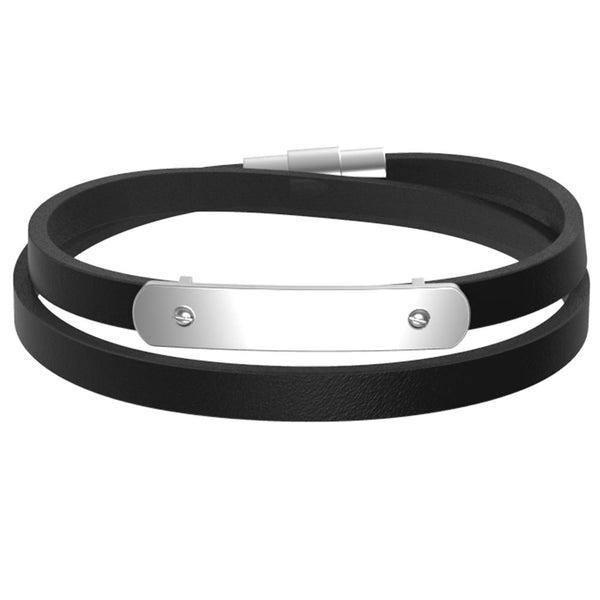 Mister Trilogy Leather Bracelet V2