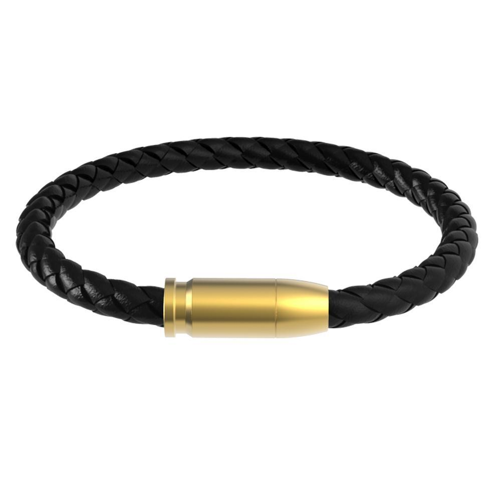 Mister Ammo Leather Bracelet