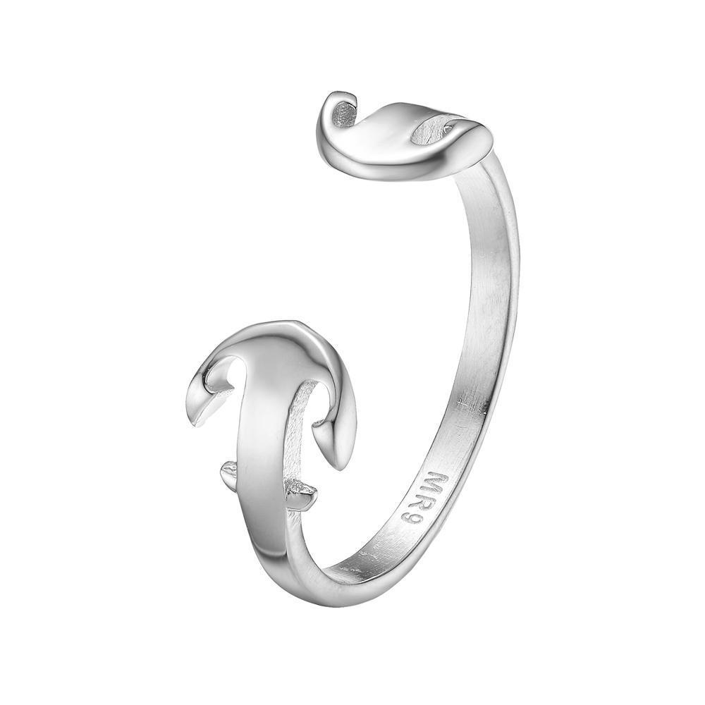 Mister Double Anchor Ring