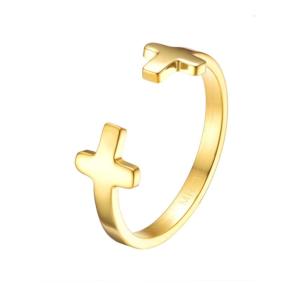 Mister Double Cross Ring