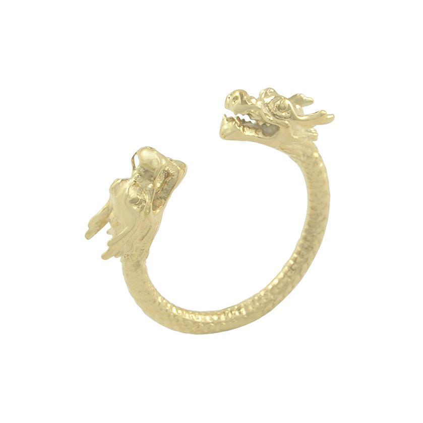 Mister Double Dragon Ring