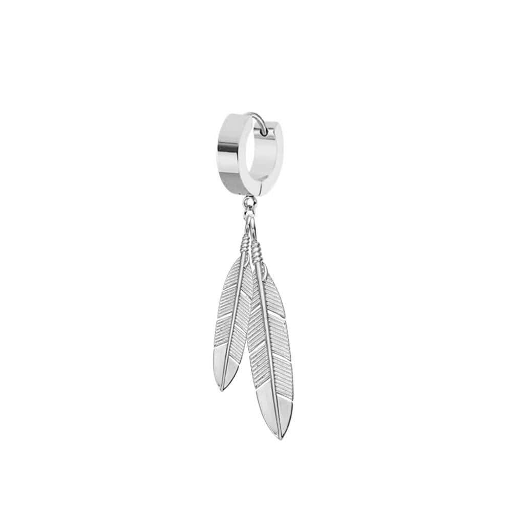 Mister Feather Earring
