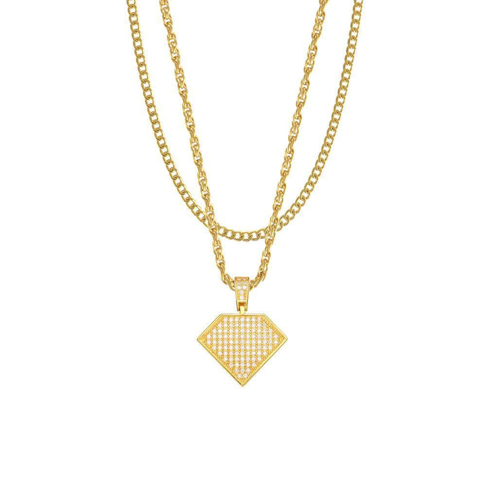Mister Solitaire Necklace