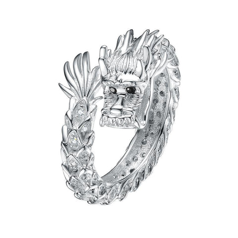 Mister Dragon Silver Ring - 925
