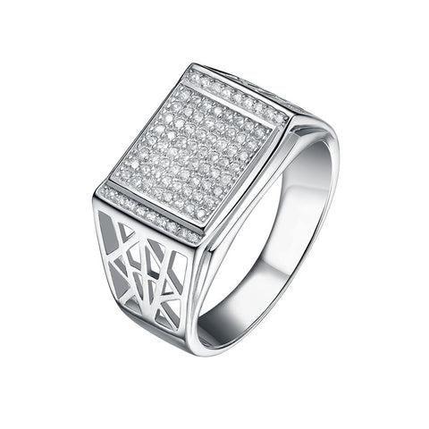 Mister Kingdom Silver Ring - 925