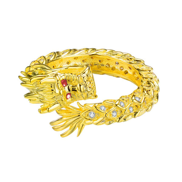 Mister Dragon Ring - 925 Gold