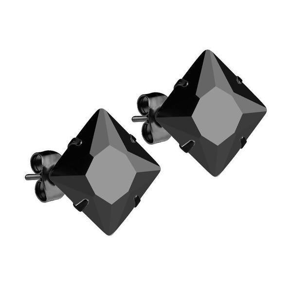 Mister Square Stud Earrings