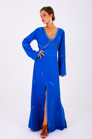 Santorini Maxi Wrap Dress