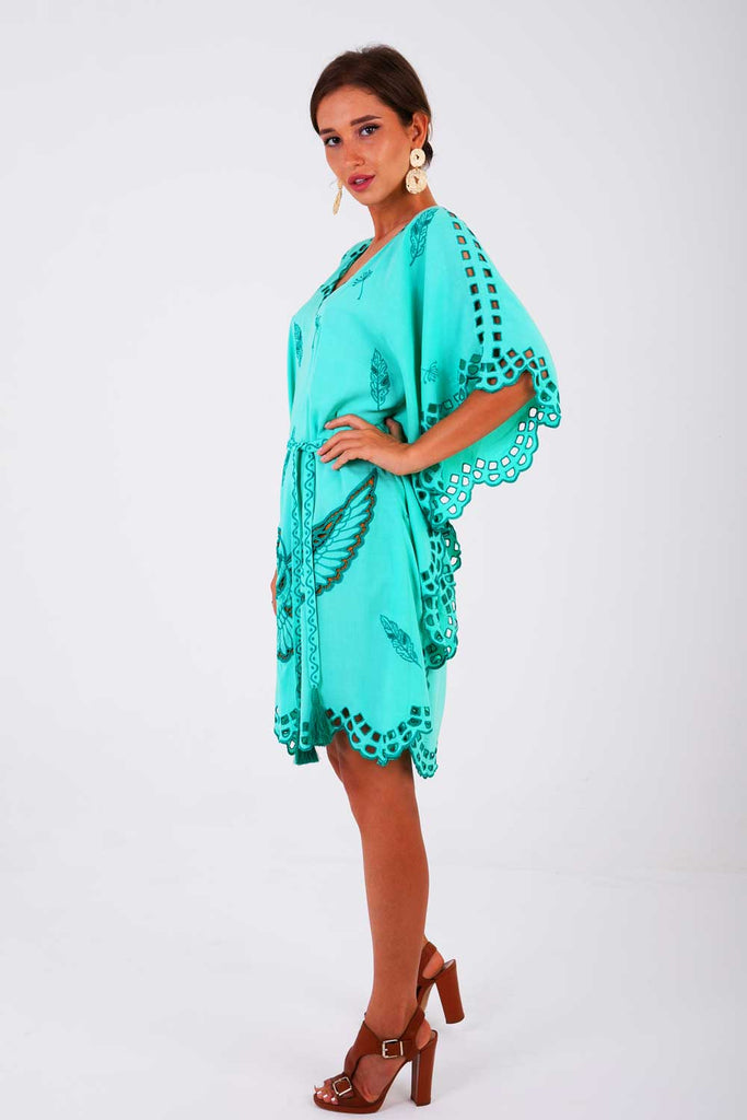 Thessaloniki Luxe Mini Kaftan