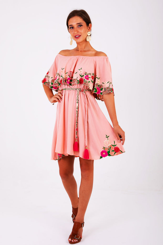 Zaimara Off The Shoulder Dress