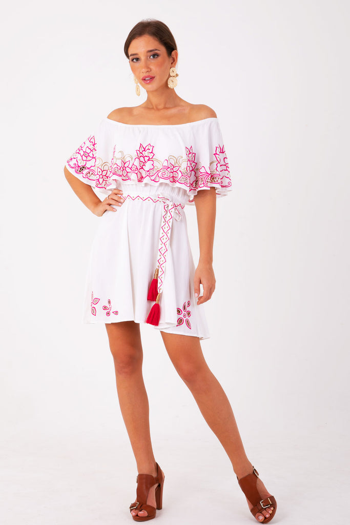 Santa Monica Off The Shoulder Dress