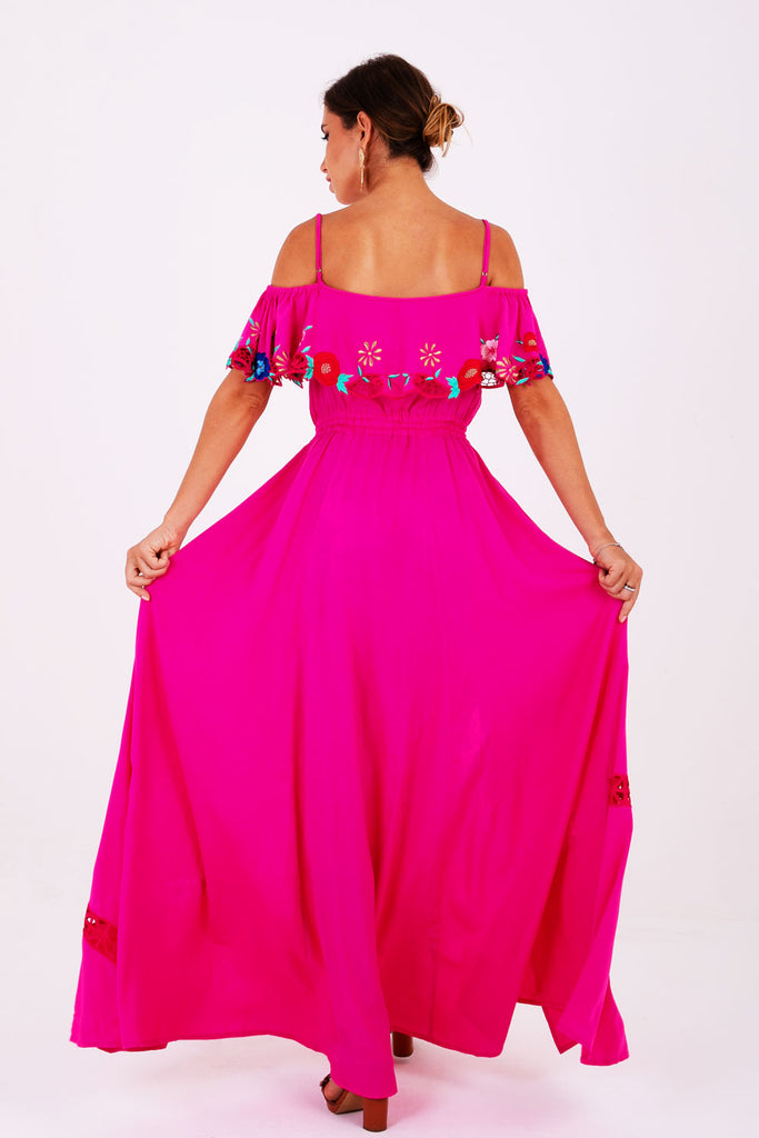 Penelope Off The Shoulder Gown