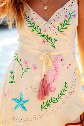 Tulum Embroidered Dress