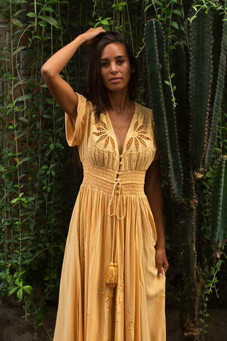Wanderlust Maxi Wrap Dress
