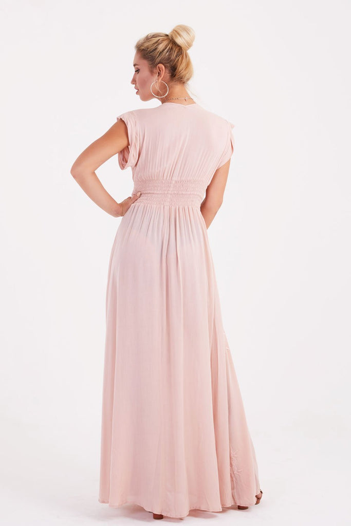 Dolce Vita Maxi Dress (Pale Pink)