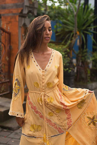 Antibes Maxi Wrap Dress