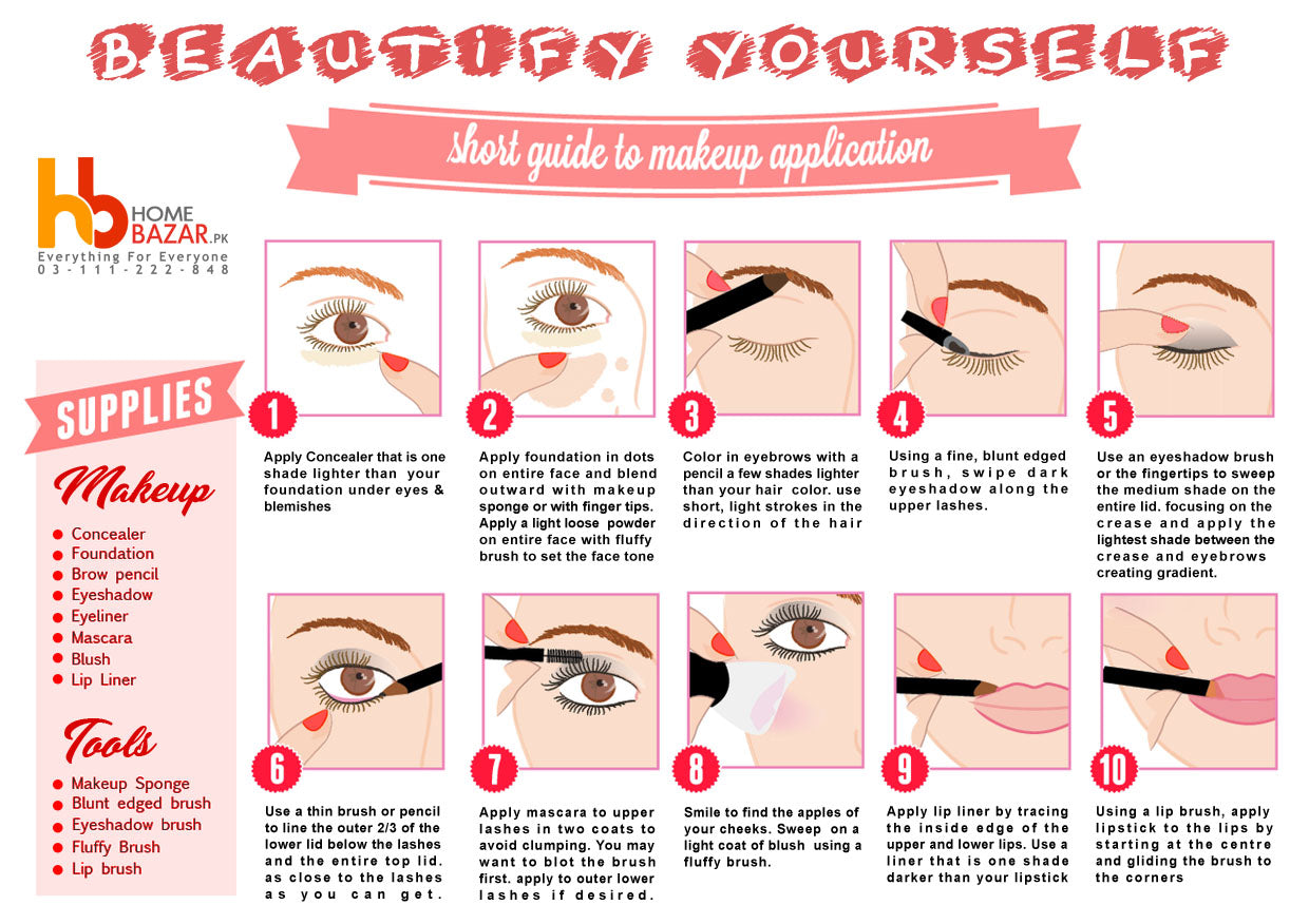 10 Steps to Beautify Yourself