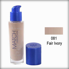 Rimmel Match Perfection Foundation SPF18 081 Fair Ivory
