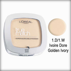 1 D Golden Ivory True Match Powder - L'Oreal Paris