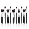 10Pcs Mini Handle Cosmetic Foundation Powder Eyeshadow Makeup Brush Tool Kit