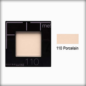 110 Porcelain Fit Me! Powder - Maybelline