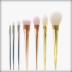 7 Piece Professional Blended Makeup Brush Set