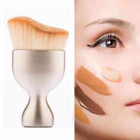 1 PCS New S-Shape Multi-functional Brush Contour Foundation Cream Loose Powder Brush Synthetic Hair homebazar-pk1