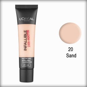 20 Sand Infallible 24H-Matte Mattifying Foundation - L'Oreal Paris