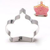 Cookie Cake Biscuit Crown Shape Cutter Mould Baking Molds Tool Kitchen