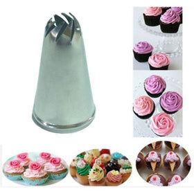 Stainless Steel Drop Flower Tips Cake Nozzle Cupcake Sugar Crafting Icing Piping Nozzles Pastry Tool HF312