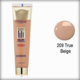 209 True Beige Visible Lift Blur Foundation - L'Oreal Paris