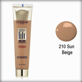 210 Sun Beige Visible Lift Blur Foundation - L'Oreal Paris