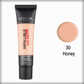 30 Honey Infallible 24H-Matte Mattifying Foundation - L'Oreal Paris