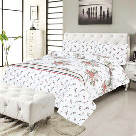 3-pcs-floral-cotton-bedsheet