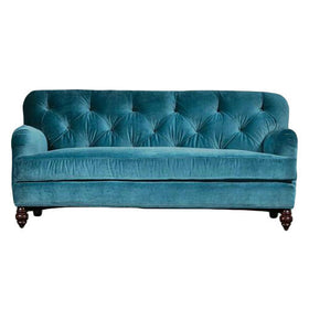 Touchwood Interior 3 Seater Suede Velvet Fabric Sofa 3
